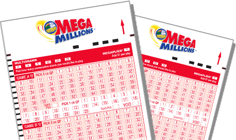 Mega Millions Lottery Ticket