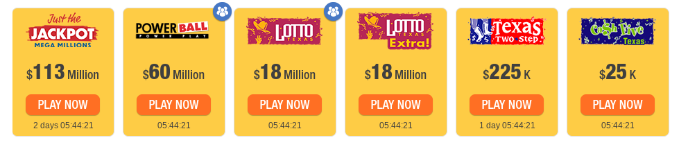 Lotteries of Texas