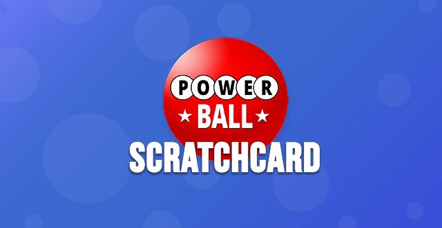 Powerball Scratch Card
