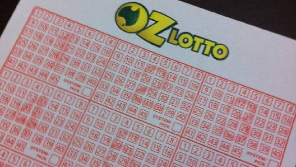 Oz Lotto Ticket